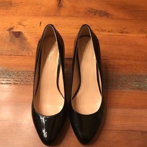 Cole Haan black patent heels